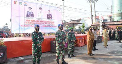 Dandim Madiun Hadir Dalam Apel Gabungan Forkopimda Kota Madiun, ASN Dan TNI/Polri