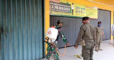 Upaya Sterilisasi Pasar Kenari Oleh Babinsa 03/Senen dan Petugas Satpol PP