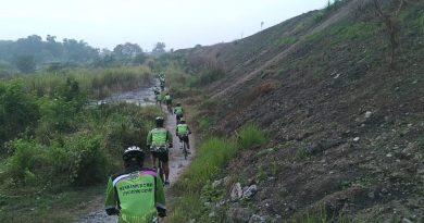 Ekstrim Funbike, Perwira Menbanpur 2 Mar Taklukan Rute Offroad