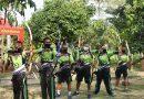 Tingkatkan Skill Memanah, Perwira Menbanpur 2 Mar Ikuti Perlombaan Archery