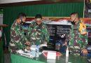 Pasilat Rem 081/DSJ Dampingi Tim Wasev Tinjau Latihan Posko I Kodim 0805/Ngawi