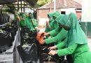 Galakkan Ketahanan Pangan Saat Pandemi, Persit KCK Cabang XVII Dim 0803 Bercocok Tanam