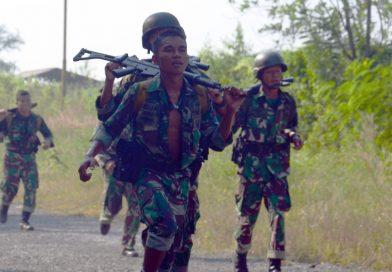 Atlit Binsat Yonhow 2 Marinir Latihan Cross Country