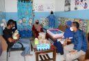 Danyonmarhanlan VII dan Ketua Jalasenastri Ranting D Cab 1 Sambangi Rumah Prajurit