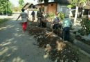 Babinsa Koramil Mejayan Bantu Warga Dalam Pembuatan Saluran Air