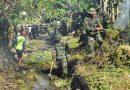 Peduli Lingkungan, Korem 081/DSJ Bersih-Bersih Sungai