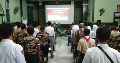 Tingkatkan Semangat Nasionalisme, Kodim 0803/Madiun Gelar Wawasan Kebangsaan