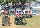 Ciptakan Zero Accident Prajurit Fighter Sejati Yonranratfib 2 Mar Laksanakan Drill Kering Senjata Utama Tempur