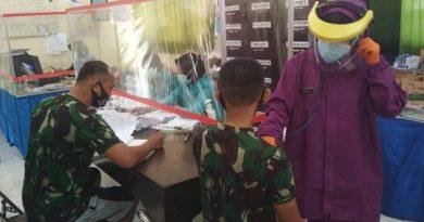 Deteksi Dini Kondisi Kesehatan, Prajurit Ksatria Perkasa Laksanakan Urikes