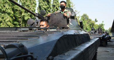 Jelang Latihan Satuan Lanjutan, Batalyon Arhanud 2 Marinir Gelar Satbak