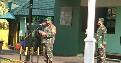 Laporan Korps Raport Pindah Satuan Personel Kodim 0501/JP BS