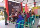 Pastikan Berjalan Dengan Aman Dan Lancar, Anggota Koramil 04/Padas Pantau Penyaluran BST