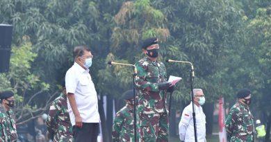 Sambut HUT Ke-75, TNI Gelar Donor Darah dan Bagikan Ribuan Paket Sembako