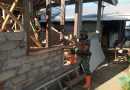 Kiprah Prajurit Yonzeni 2 Mar Dalam Satgas Percepatan Pembangunan Hunian Tetap Tahap ll Lombok
