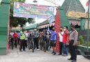 Jelang HUT TNI ke-75, Kodim Tulungagung Gelar Fun Bike dan Baksos