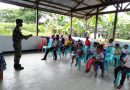 Lama Tidak di Fungsional, Satgas Yonif 413 Bremoro Hidupkan PAUD Pelita di Papua