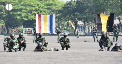 Jelang Latihan, Yonbekpal 2 Mar Asah Pengetahuan Tanda Taktis Dan Bendera Pantai
