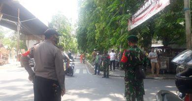 Babinsa Koramil SB : Operasi Yustisi PSBB Tiga Pilar Sawah Besar Jaring 13 Pelanggar