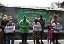 Jumat Berkah Persit Kartika Chandra Kirana Cabang XV PD Jaya di Wilayah Johar Baru dan Senen