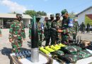 Komandan Kavaleri 2 Marinir Pimpin Gelar Pasukan dan Material Tempur
