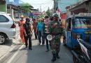 Peltu Nofriyon Bersama Tiga Pilar Laksanakan Operasi Yustisi Tertib Masker