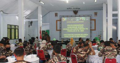 Komsos TW III Tahun 2020, Kodim 0802/Ponorogo Ajak Keluarga Besar TNI Bantu Putus Mata Rantai Covid-19
