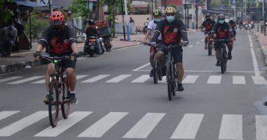 Danlantamal III Ajak Anggota Olahraga Bersepeda