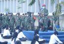 Pengarahan Danlantamal III Pada Calon Bintara dan Tamtama PK TNI AL TA 2020
