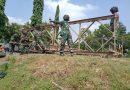 Latih Bongkar Pasang Jembatan Bailey, Untuk Wujudkan Prajurit Yonzeni 2 Mar Yang Siap Operasi