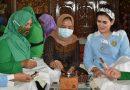 Istri Prajurit TNI di Madiun Belajar Membatik Bersama