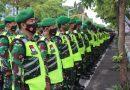 TNI Polri Tulungagung Gelar Apel Pasukan Antisipasi Aksi Unras RUU Cipta Kerja
