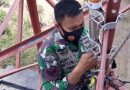 Yonkomlek 2 Marinir Gelar Repiter Dalam Pendukungan PAM Unras