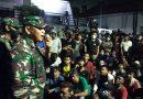 Dandim 0501 Redam Amuk Warga Kwitang Pada Aksi Unjuk Rasa UU Omnibus Law