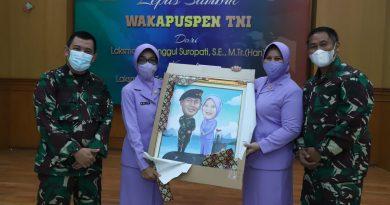 Puspen Gelar Acara Lepas Sambut Wakapupen TNI