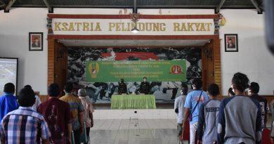 Cegah Konflik Sosial Masyarakat, Korem 174 Merauke Gelar Pembinaan Komunikasi Dengan Komponen Masyarakat