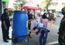 "Prajurit Yon POM 2 Mar ""Blusukan"" Mall Laksanakan Operasi Yustisi"