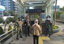 Peltu Rukidi Dampingi Pasukan BKO Ops Protkes di St. MRT Dukuh Atas
