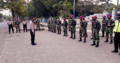 Yonkomlek 2 Mar Ikuti Apel Gelar Pengamanan Demonstrasi Unras