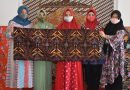 Ibu-Ibu Dharma Pertiwi Bakoor Madiun Kenalkan Batik Motif Sri Gandhali