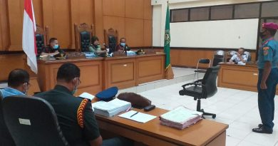 Majelis Hakim Vonis 12 Tahun Penjara Pembunuh Babinsa Pekojan