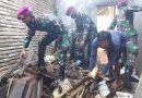 Binpotmar TNI AL, Yonbekpal 2 Mar Ajak Warga Ds. Gondowangi Renovasi Tempat Ibadah