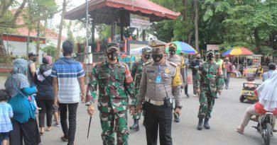 Jelang Libur Panjang, Danrem Pantau Kedisiplinan Protokol Kesehatan Covid-19 di Kota Blitar
