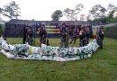 Yonif 511/DY Melaksanakan Latihan Posko II Di Lereng Gunung Kelud