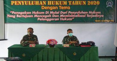 Cegah Dan Minimalisir Terjadinya Garkum, Kodim Ngawi Gelar Penyuluhan Kepada Anggota