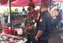 Babinsa Koramil 03/Senen Lakukan PDMPK di Pasar Kwitang