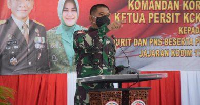 Danrem 174 Merauke : Jaga Netralitas TNI Dalam Pilkada