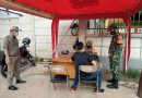 Operasi Yustisi Tertib Masker, Serda Nurohman: Mari saling bekerja sama percepat penanganan Covid 19
