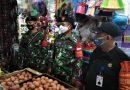 Penegakan Protokol Kesehatan di Pasar Benhil Kampanyekan 3 M