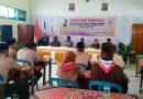 Batuud Koramil 07/Ngrambe Hadiri Pelantikan Ketua Pramuka Kwaran Ngrambe