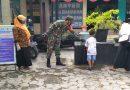 Masih Suasana Pandemi, Babinsa Koramil 0802/03 Babadan Himbau Warga di Posyandu Patuhi Protokol Kesehatan
